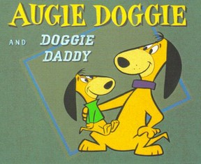 title card of augie doggie and doggie daddy