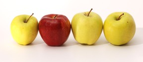 different apple