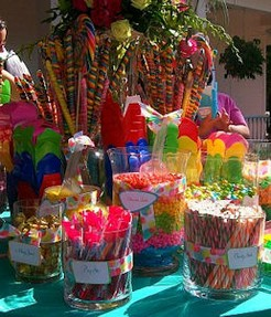 Candy Buffet by Connie Foggles