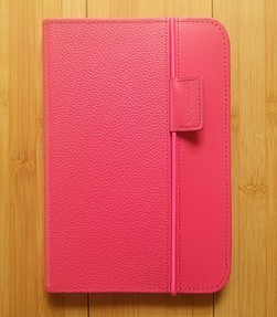 Hot Pink Kindle 3 Lighted Cover