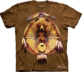 The Mountain Bear Shield Tee