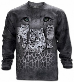 The Mountain Snow Leopard Tee