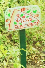 Pizza Garden Sign