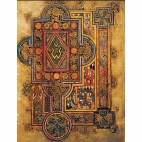Handstitched Book of Kells Blank Book - gift for writers