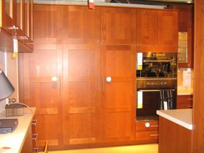 Full height kitchen cabinet doors