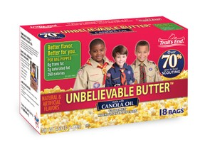 Unbelievable Butter Popcorn