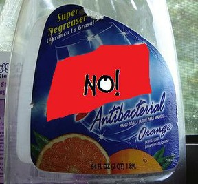 No to Antibacterials