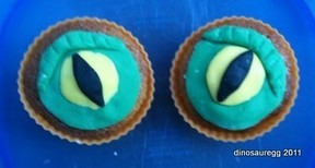 Dragon Eye Cupcakes