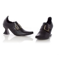 Hazel Black Witch Shoes