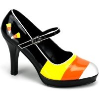 Candy Corn Witch Shoes