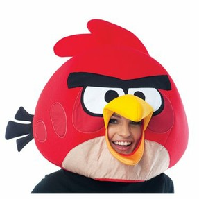 Red Angry Birds Mask