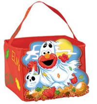 Elmo Halloween Candy Pail