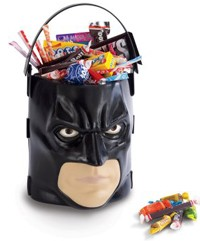 Batman Halloween Candy Bucket