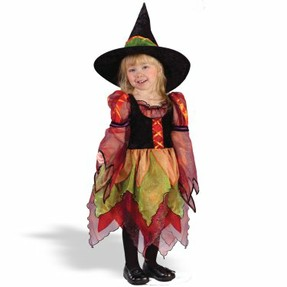Pretty Princess Witch Costume