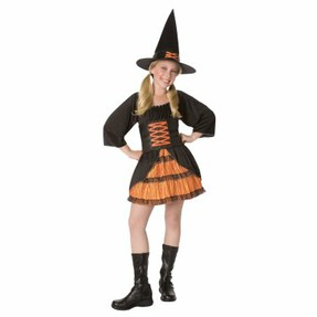 Salem Girls Witch Costume