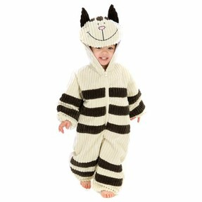 Striped Cat Costume for Kids