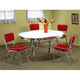 retro 50 u0027s and 60 u0027s kitchen creating a retro kitchen  tables and chairs  rh   wizzley com
