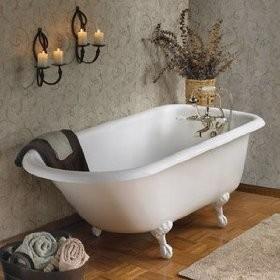 Retro Clawfoot Bath Tub
