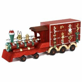 Kurt Adler train Advent Calendar
