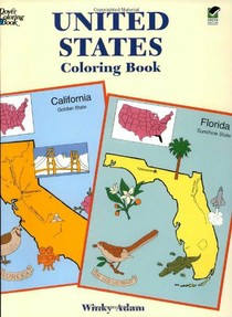 United States Coloring Book on Amazon