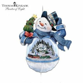 Thomas Kinkade Christmas Ornament