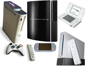 Different consoles for gaming