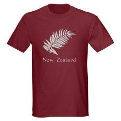 New Zealand mens silver fern t-shirt