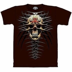 The Mountain Skullbone gothic tees