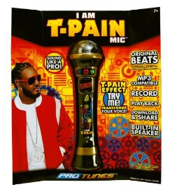 I Am T-Pain Microphone Gold
