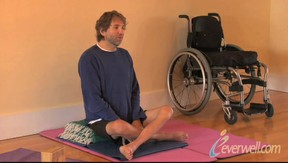 paraplegic yoga teacher