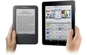 kindle keyboard vs apple ipad