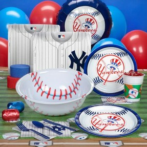 yankees party supplies