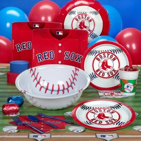 red sox party supplies