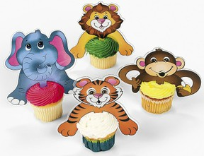 jungle safari cakes
