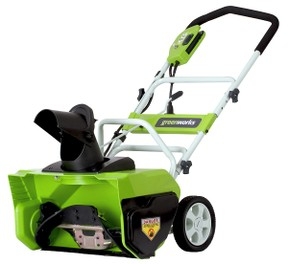Greenworks 26032 Snow Thrower