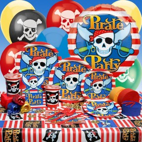 Pirate Themed Birthday Party Supplies & Decoration Ideas