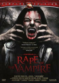 "Jean Rollin's ""The Rape of the Vampire"" - Artwork for the Swedish DVD release from Njutafilms"