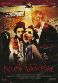 "Jean Rollin's ""The Nude Vampire"" - Artwork for the Swedish DVD"