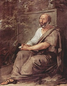 Portrait of Aristotle by Francesco Hayez