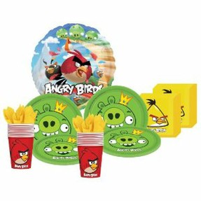 Angry birds birthday party supplies decoration ideas for Angry birds party decoration ideas