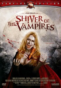 "Jean Rollin's ""The Shiver of the Vampires"" - Artwork for the Swedish DVD release from Njutafilms"