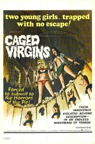 "Jean Rollin's ""Requiem for a Vampire"" - Retitled ""Caged Virgins"" on the American poster"