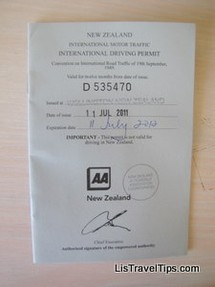 overseas driving permit