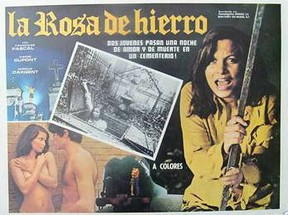 "Jean Rollin's ""The Iron Rose"" - Spanish lobby card"