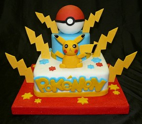 Pokemon birthday cake amp cupcake ideas