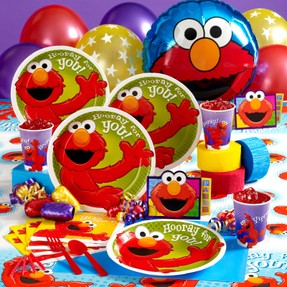 A Kids First Birthday Party is always special. You can make it more special for a child by planning and Elmo Themed party for him.  sc 1 st  Wizzley & Sesame Street Elmo Birthday Party Supplies u0026 Decoration Ideas