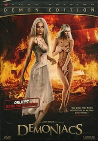 "Jean Rollin's ""Demoniacs"" - Artwork for the Swedish DVD release"
