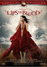 "Jean Rollin's ""Lips of Blood"" - Artwork for the Swedish DVD release from Njutafilms"