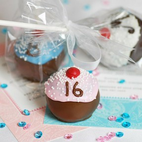 brownie cupcake favors