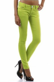 lime-colored-denim-jeans